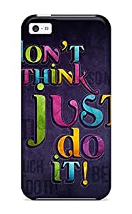 Hot New Just Do It Case Cover For Iphone 5c With Perfect Design