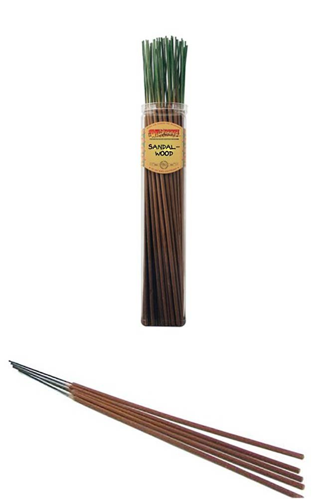 SANDALWOOD - Wild Berry Highly Fragranced Large Incense Sticks''Biggies'' (50 Pack), 19'' Tall