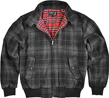 Knightsbridge Winter Harrington - Chaqueta para hombre, lana: Amazon.es: Deportes y aire libre