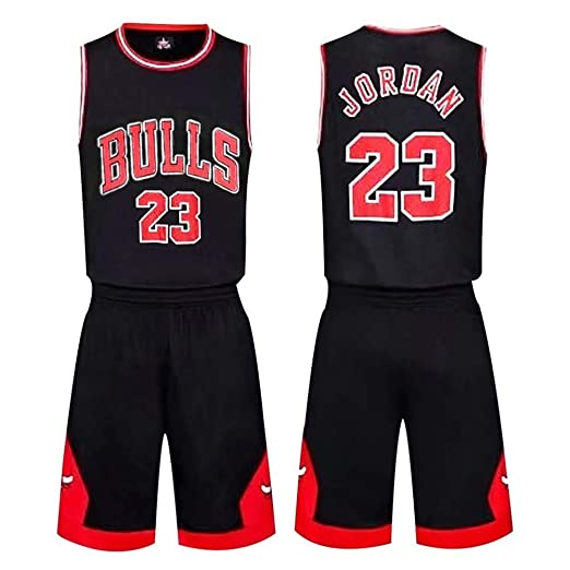 AKCHIUY Camiseta De Baloncesto, NBA Bulls Michael Jordan # 23 ...
