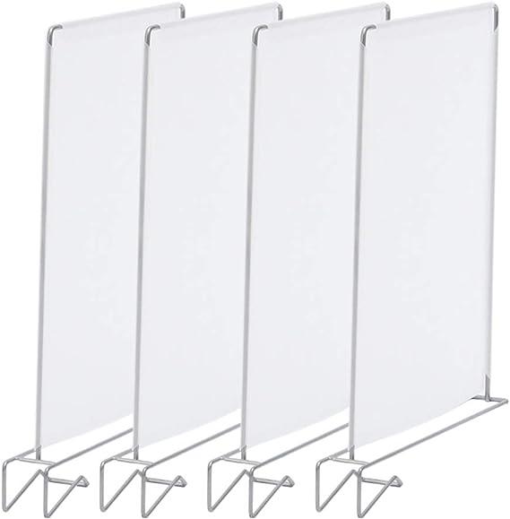 Estante separador de armario, 4 unidades, soporte de baño ...