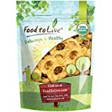 Food To Live Certified Organic Dried Apple Rings (Non-GMO, Kosher, Unsulfured, Bulk) (8 Ounces)