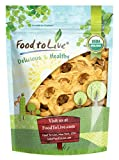 Food To Live Certified Organic Dried Apple Rings (Non-GMO, Kosher, Unsulfured, Bulk) (1 Pound)