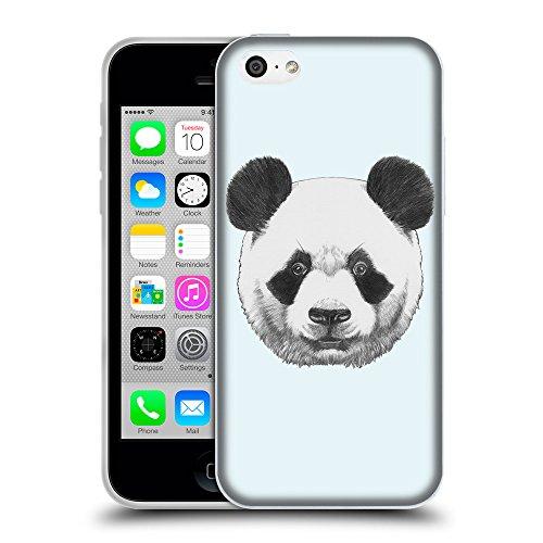 GoGoMobile Coque de Protection TPU Silicone Case pour // Q05300619 Panda Bulles // Apple iPhone 5C