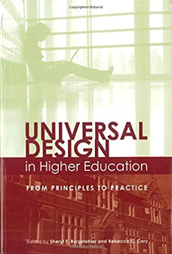 universal design in higher education from principles to practice rh amazon com Home Theater Design Practical Magic House