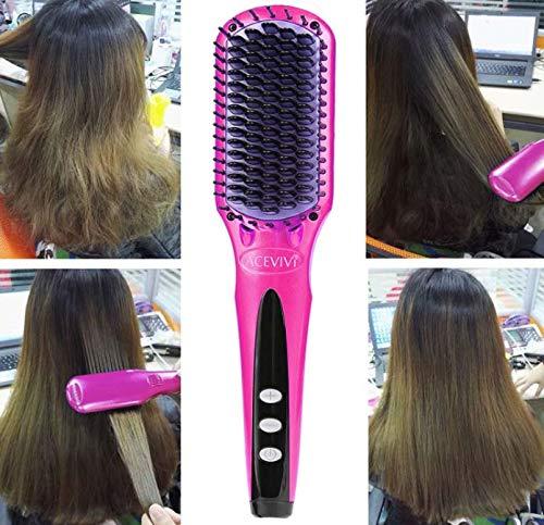 Peine de pelo recto, Cepillo de paleta para cepillar el pelo ...