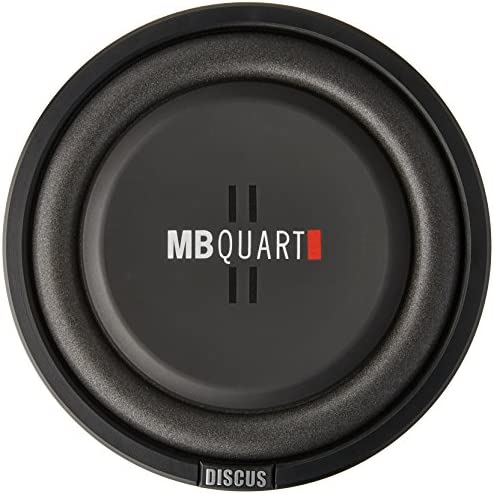 MB Quart DS1-254 Discus Series, 400W, 10 Shallow Subwoofer, Subwoofers, Bass Boost, Stereo, Speaker, Truck, Car, Boat