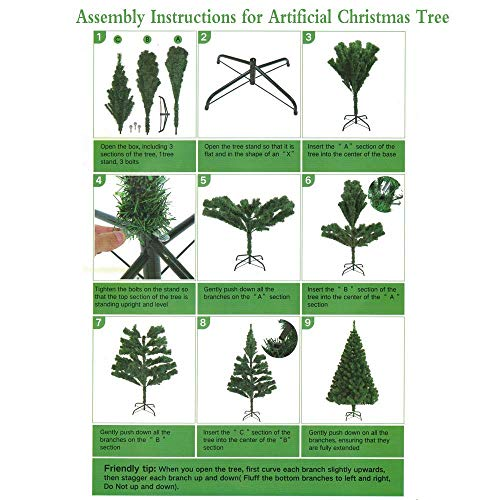 U Miss 75ft Eco Friendly Aspen Fir Christmas Tree Available In