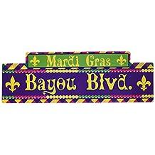 Small Mardi Gras Street Signs
