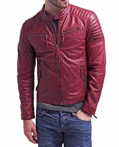 Traditional Motorcycle Jacket - 8