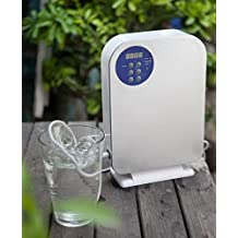 Ozone Generator for Water and Air Purification - O3 Ozone Sanitizer Sterilizer with Digital Timer and Remote for Cleaning Vegetables and Fruits, Purifying Water, and Bacteria from the Air