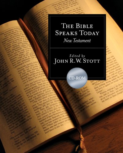 Read Online The Bible Speaks Today New Testament CD-ROM pdf