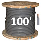 8/2 UF (Underground Feeder - Direct Earth Burial) Cable