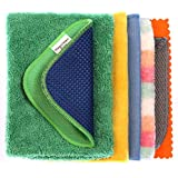 MagiClean Antibacterial Microfiber Cleaning Cloth - Lint-Free Streak-Free Multipurpose Cleaning Cloth, Set of 7