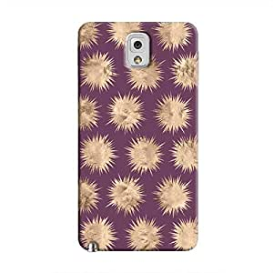 Cover It Up - Sand Star Purple Galaxy Note 3 Hard Case