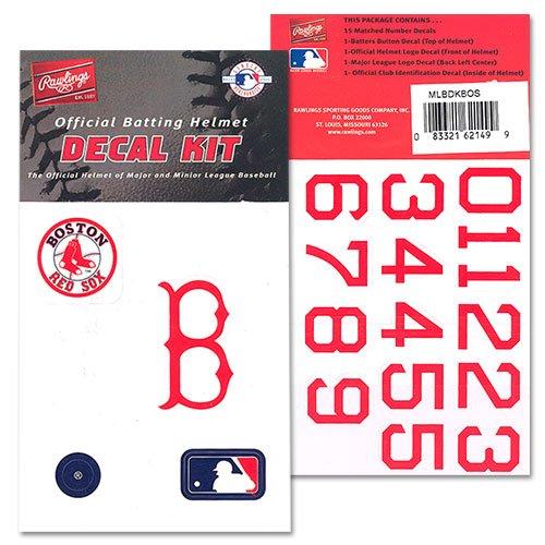 MLB BATTING HELMET DECALS