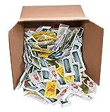 Ketchup, Mustard, Relish, and Mayo packets (50 of each)