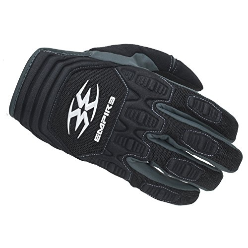 Empire Paintball Contact FT Gloves, Black, Medium