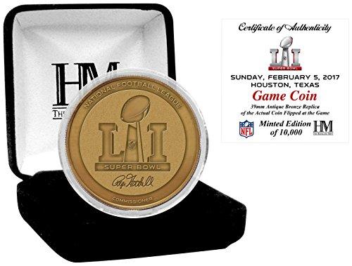 nfl-patriots-vs-falcons-highland-mint-super-bowl-51-bronze-flip-coin-gold