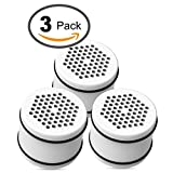: AQUACREST Replacement for Culligan WHR-140, WSH-C125, HSH-C135, ISH-100 Shower Water Filter Units (Pack of 3)