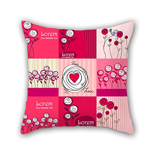 PILLO The Love Throw Pillow Covers Of ,20 X 20 Inches / 50 By 50 Cm Decoration,gift For Pub,play Room,bf,deck Chair,living Room,girls (2 Sides) (Live Love And Pop Popcorn compare prices)