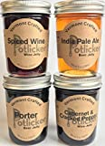 Potlicker Beer and Wine Jelly 4-Pack