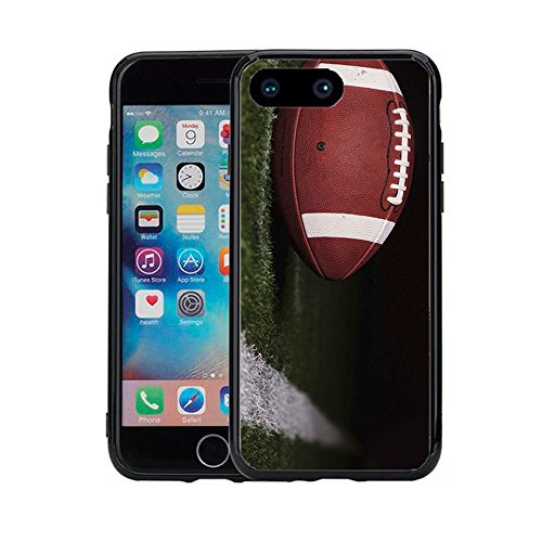 Football Atomic (Football On Field by Yard Line for iPhone 7 Plus (2016) & iPhone 8 Plus (2017) (5.5) Case Cover by Atomic Market)