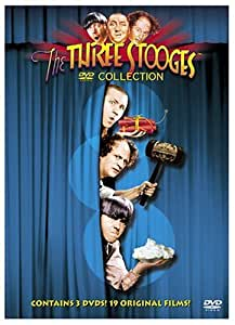 The Three Stooges DVD Collection (Curly Classics / Spook Louder / All the World's a Stooge)