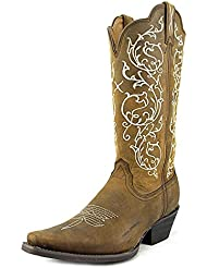 Twisted X Womens Western Scroll Embroidered Cowgirl Boot Snip Toe - Wwt0022
