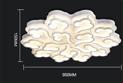 Lampadari E Plafoniere Per Bagno : Lucky clover a lampadario forma di nuvola lampade sospensione