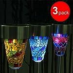 GRDE 3 Pack Originality LED Garden So...
