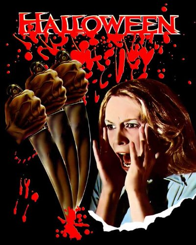Halloween Movie Poster (27 x 40 Inches - 69cm x 102cm) (1978) Style C -(Jamie Lee Curtis)(Donald Pleasence)(Nancy Loomis)(P.J. Soles)(Charles Cyphers)(Kyle Richards) ()