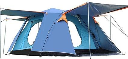 Tiendas de campaña 4 Puertas de Doble Capa Ligera for Acampar ...