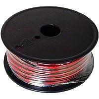 Powerwerx Red/Black Zip Cord (Gauge: 10 Length: 25 ft.)