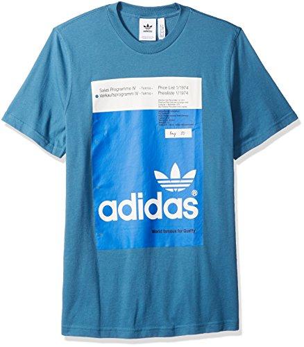 adidas Originals Men's Pantone Tee, Blanch Blue, S