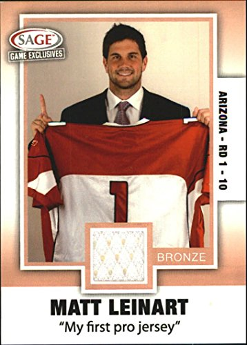2006 SAGE Game Exclusive Matt Leinart Jerseys Bronze #ML7 Matt Leinart NFL Jersey - (Matt Leinart Nfl Jersey)
