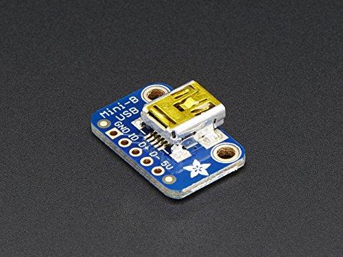 Adafruit USB Mini-B Breakout Board [ADA1764]