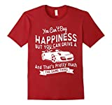 counting cars t shirts - Men's You Can't Buy Counting cars t shirts happiness  Small Cranberry