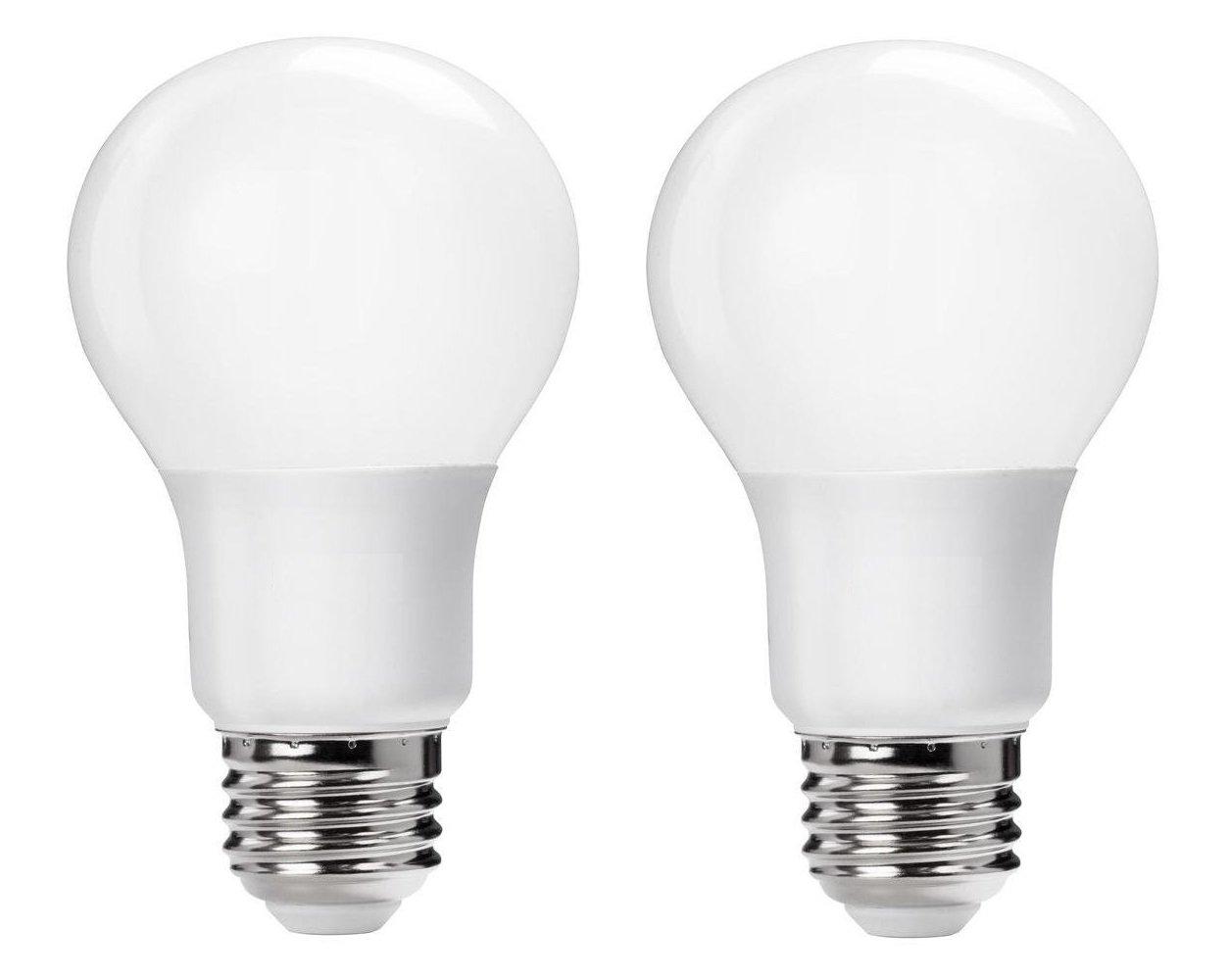 Soft White 2 Pack Ciata Lighting 60-Watt Equivalent 2700K A19 LED Light Bulb