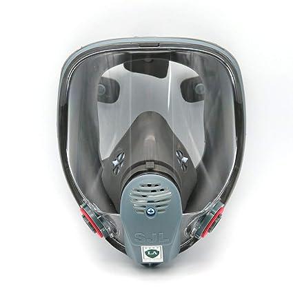 Para 6800 SJL Gas Máscara Cara Completa protección Mascarilla Pintura pulverización nuevo