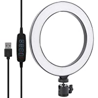 Ringlicht Selfie Ringlicht 8 in USB-voedingspoort, voor het vullen van licht binnenshuis