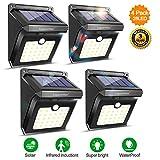 Solar Lights Outdoor Motion Sensor Wireless Waterproof Security Light, Solar Lights for Garden, Patio, Yard, Driveway, Garage, Porch, Pathway by Luposwiten [4PACK] (2)