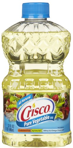 Crisco Pure Vegetable Oil, 32 Oz