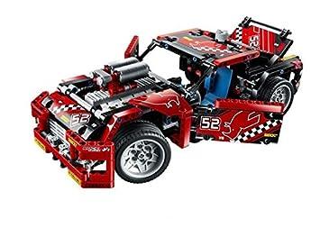 608pcs Race Truck Car 2 In 1 Transformable Model Building Block Sets DIY Toys