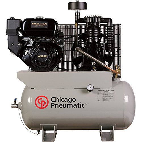 - Chicago Pneumatic Gas-Powered Air Compressor - 12 Hp, 30 Gallon, Model# Rcp1230g