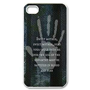 Printed Phone Case for iphone 4/4s - Protect Shell Plastic Case Cover with Design in The Elder Scrolls V Skyrim -61610