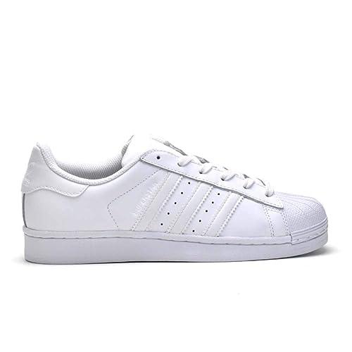 scarpe superstar bianche