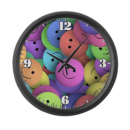 Smile Face Emoji Children Wall Clock