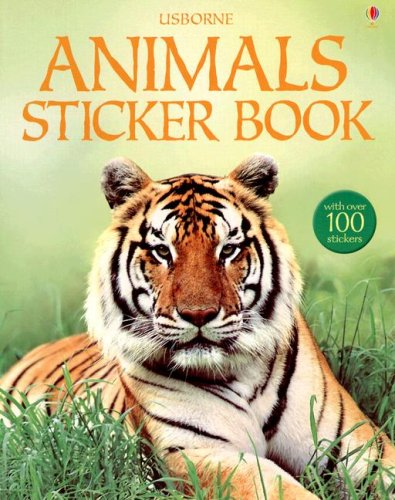 Read Online Animals Sticker Book (Spotter's Guides Sticker Books) pdf