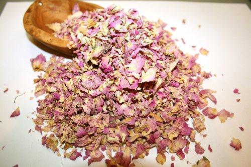 Organic Bio Herbs Dried Rose Petals (Rosa Damascena), 2 (Rose Petal Essence)